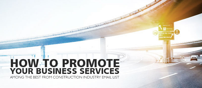 Construction Industry Email List